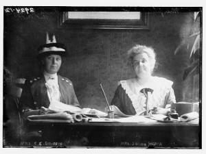 1. photo, kate shippen roosevelt, jennie dewey heath and mrs. Griffin, anti suffragists, loc